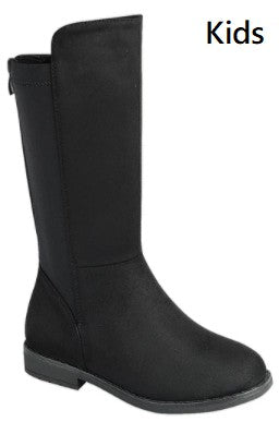 No Missteps Black Knee High Boots - Tween