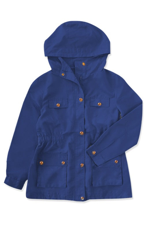 Moving On Through Navy Parka - shoptheexchange