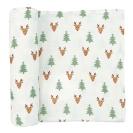 Christmas Muslin Swaddle - shoptheexchange