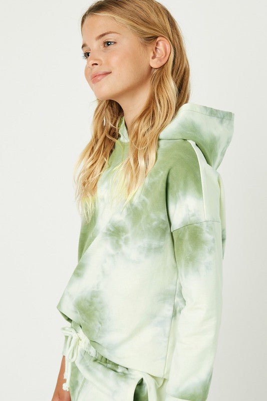 Catch This Groove Olive Multicolored Sweatshirt