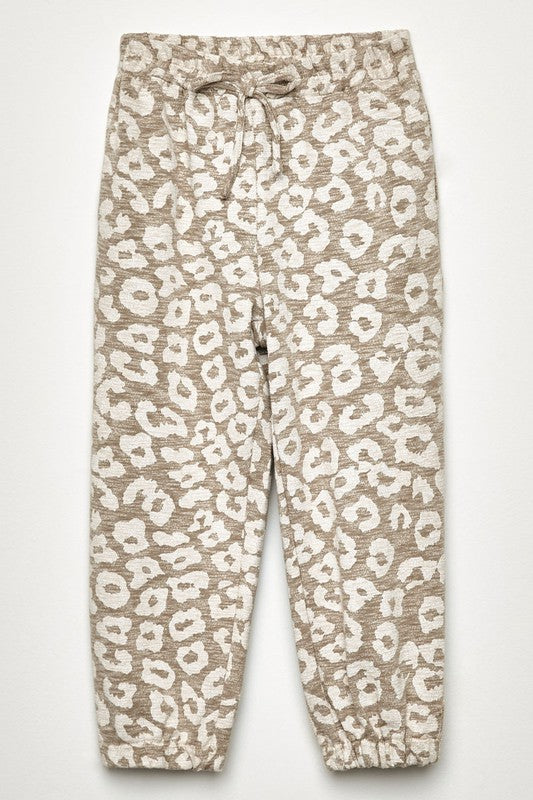 Totally Worth It Taupe Leopard Joggers - shoptheexchange