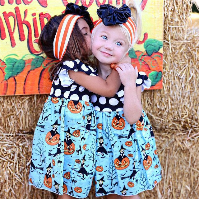 Polka Dot Halloween Dress - shoptheexchange