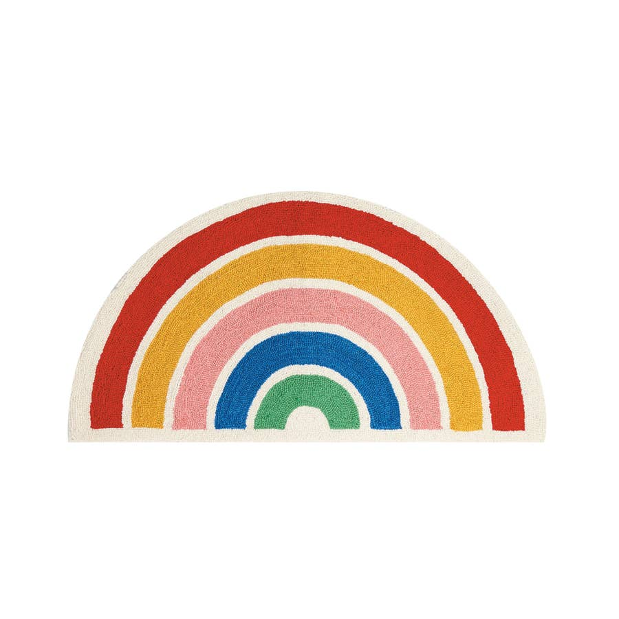 Rainbow Shaped Hook Rug