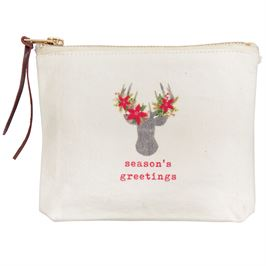 Deer Canvas Pouches - shoptheexchange