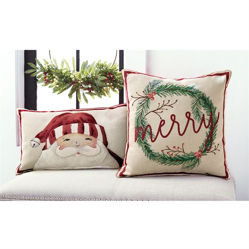 Christmas Tapestry Pillows - shoptheexchange