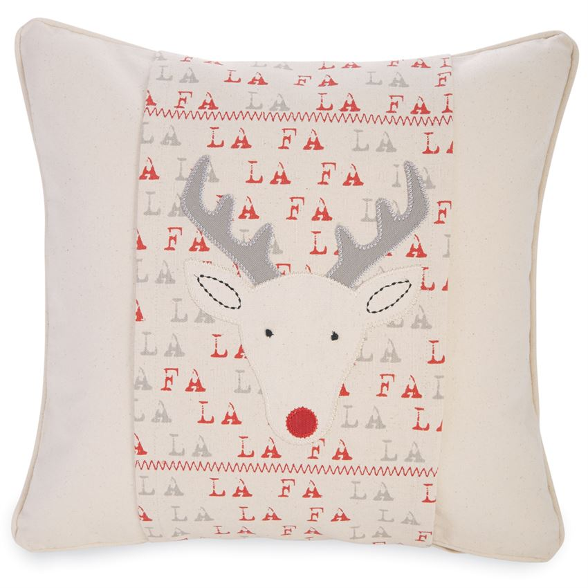 Mudpie Reindeer Pillow Wrap - shoptheexchange