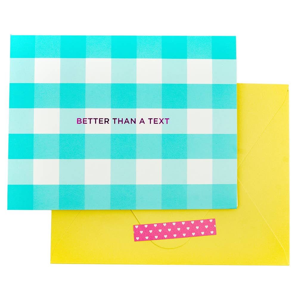 Taylor Elliott Designs - Better Than A Text Boxed Note Cards - shoptheexchange