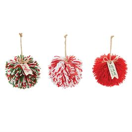 Pom Pom Ornaments - shoptheexchange