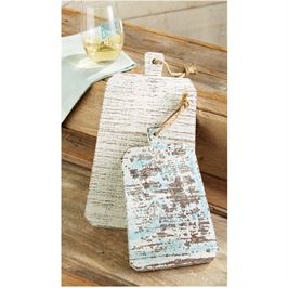 Mudpie Distressed Wooden Paddle Boards - shoptheexchange