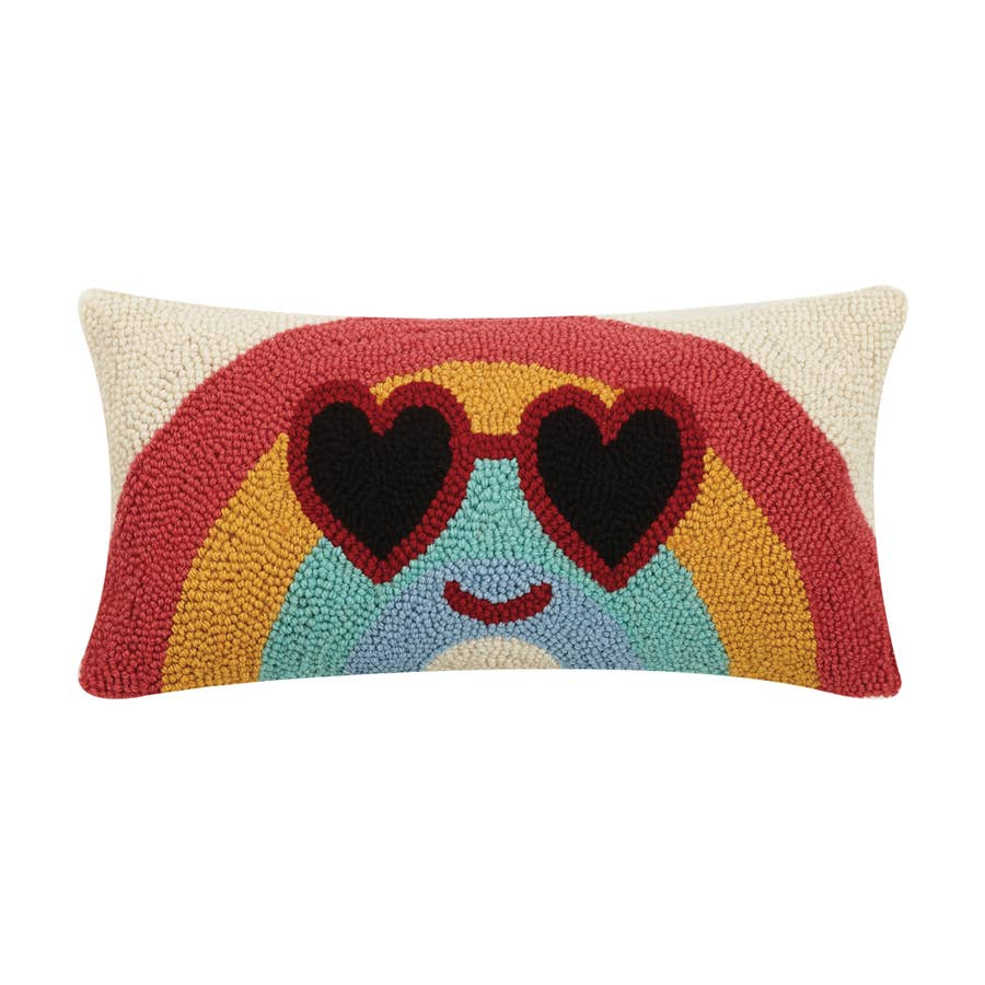 Cool Rainbow Hook Pillow