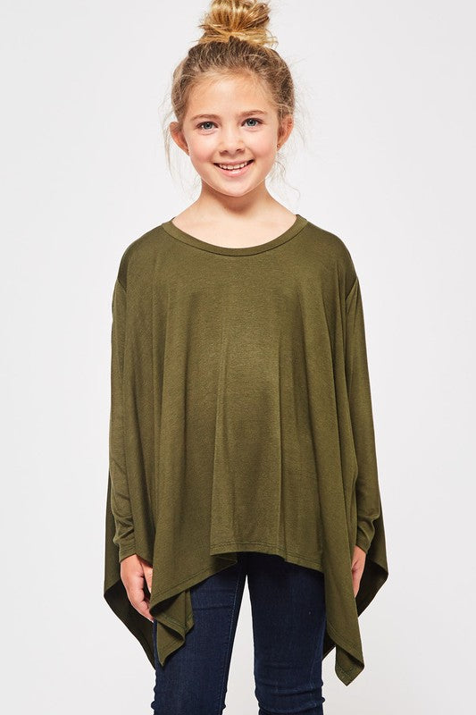Simply Casual Handkerchief Tunic Top
