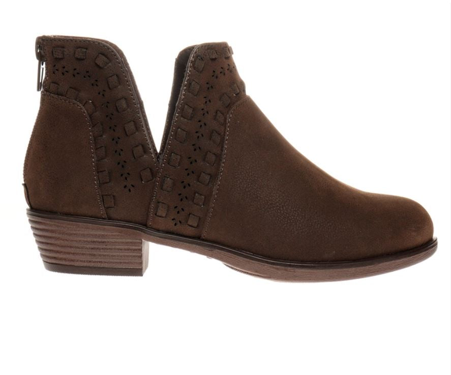 Step Towards You Brown Booties - Tween