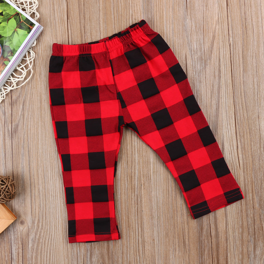 Buffalo Plaid Leggings - shoptheexchange