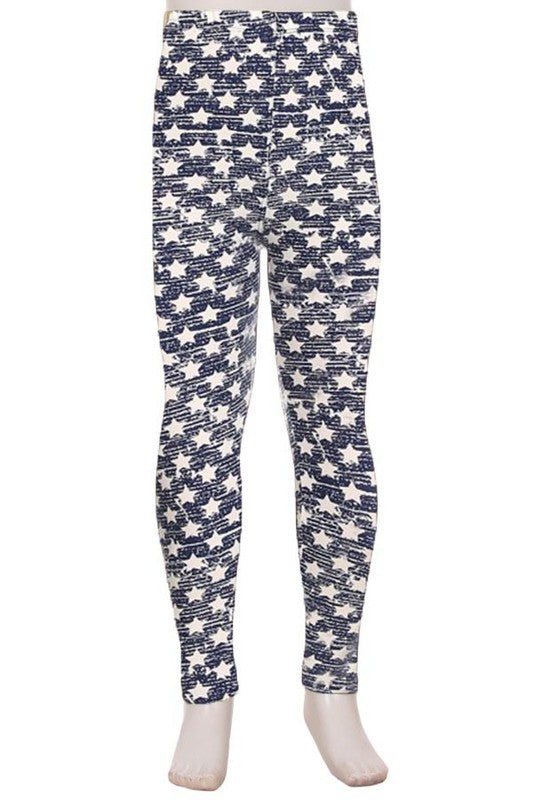 Star Printed Leggings - shoptheexchange