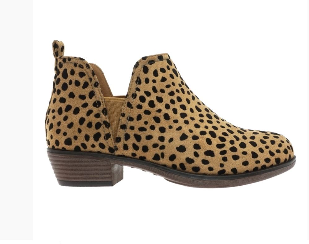 My Wild Side Cheetah Booties - Tween