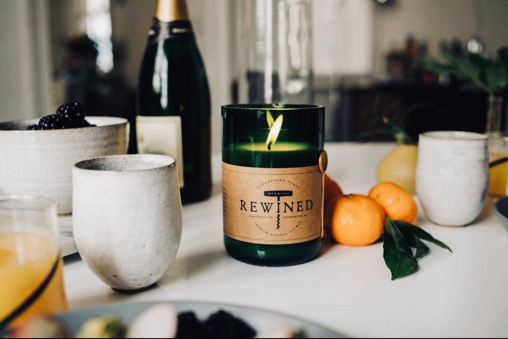 Rewined Mimosa Signature Candle - shoptheexchange