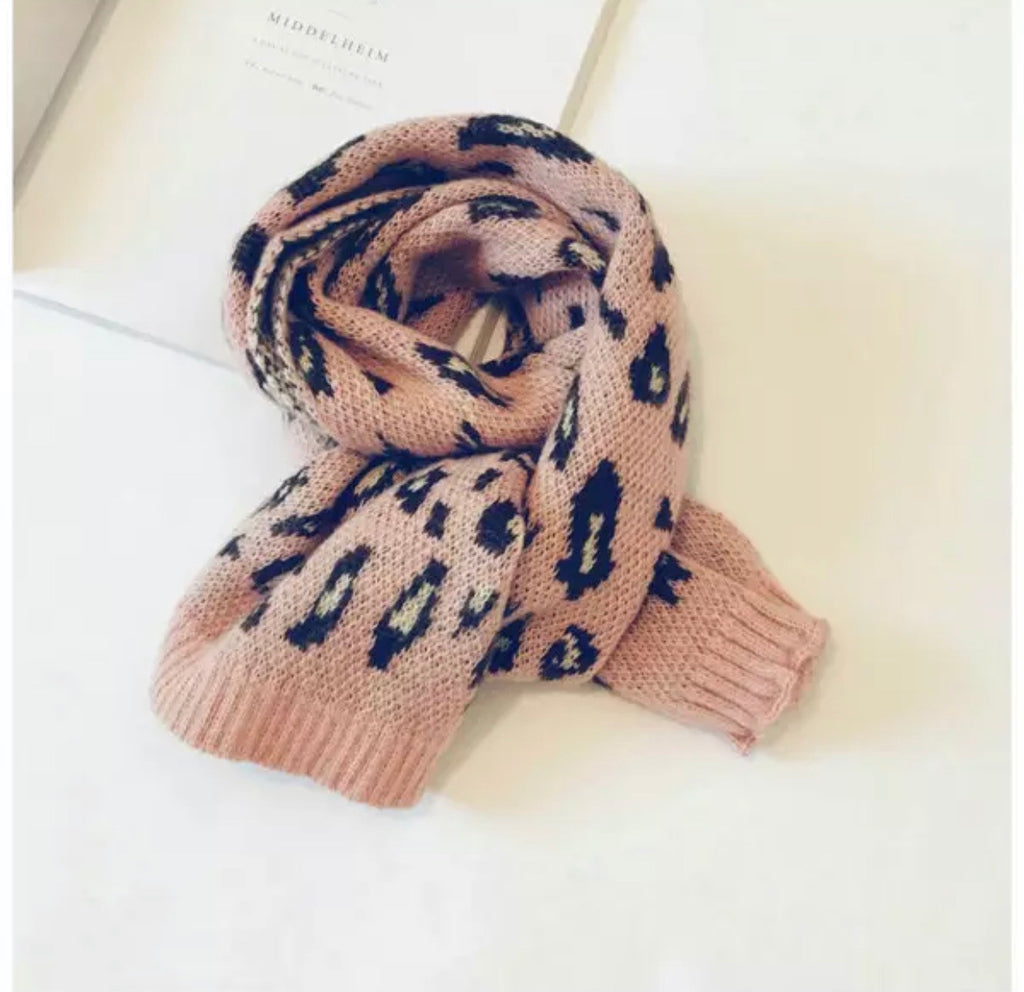 Light Pink Leopard Scarf - shoptheexchange