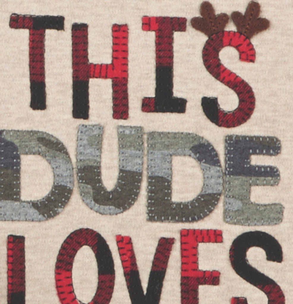 This Dude Loves Christmas T-Shirt - shoptheexchange