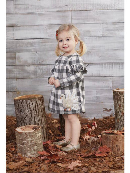 Buffalo check Turkey dress - shoptheexchange