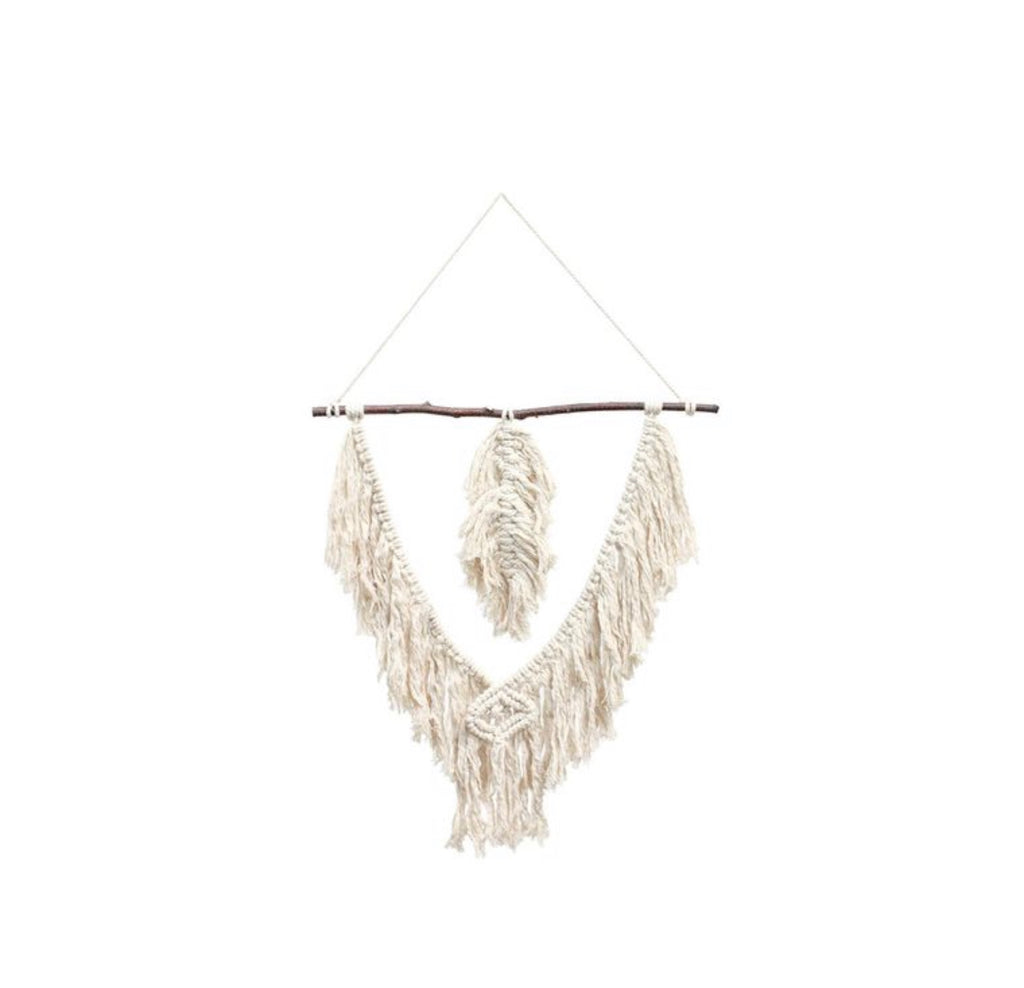 Feeling Free Macrame Wall Hanging