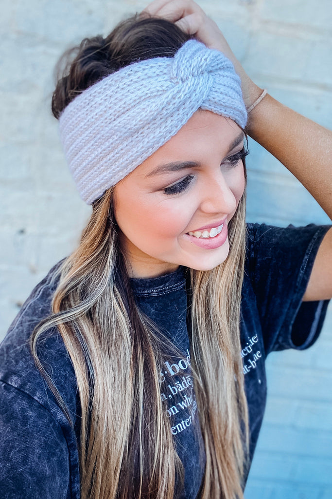 Black Friday Winter Headband - Cream