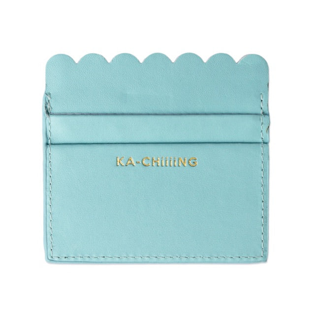 Packed Party KA-CHiiiNG Scalloped Card Holder - shoptheexchange