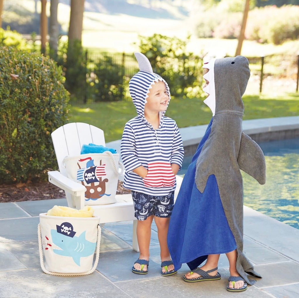 Shark Hooded Coverup - shoptheexchange