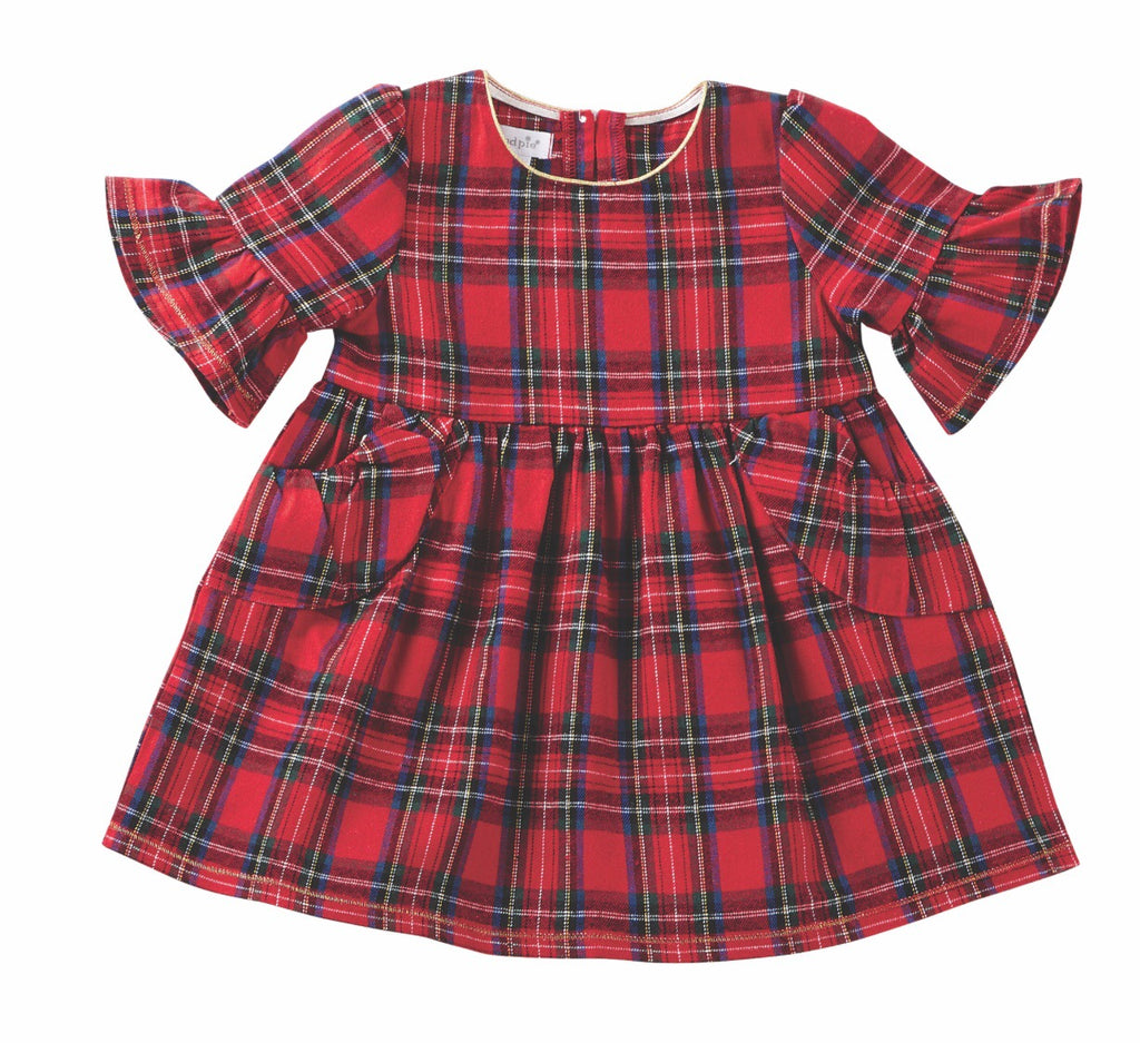 Mud Pie Girls Dress - Tartan Plaid - shoptheexchange