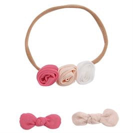 Mesh flower headband and clips - shoptheexchange