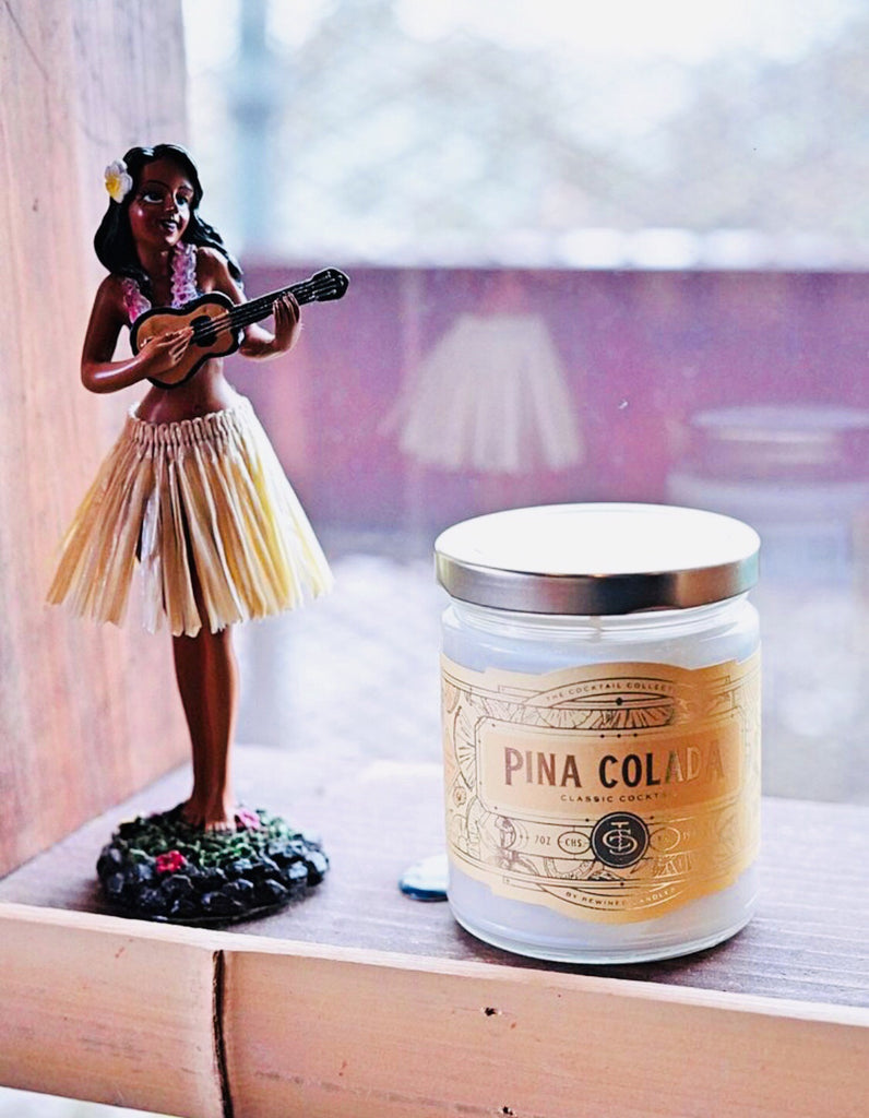 Rewined Cocktail Collection - Piña Colada Candle