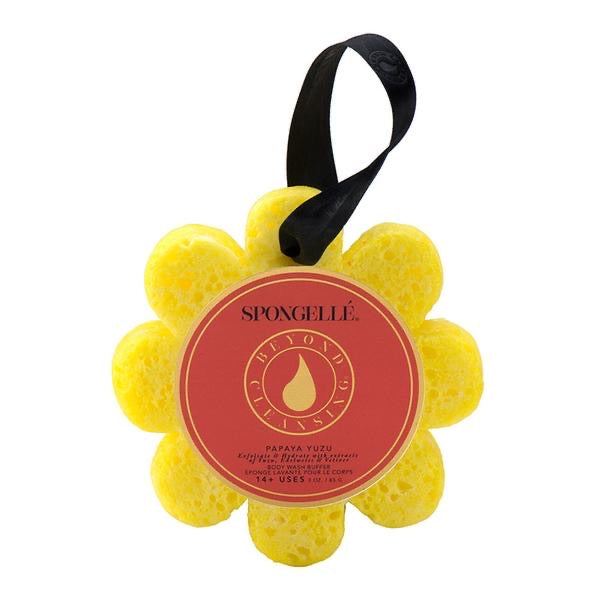 Spongellé Body Wash Infused Buffer - Papaya Yuzu