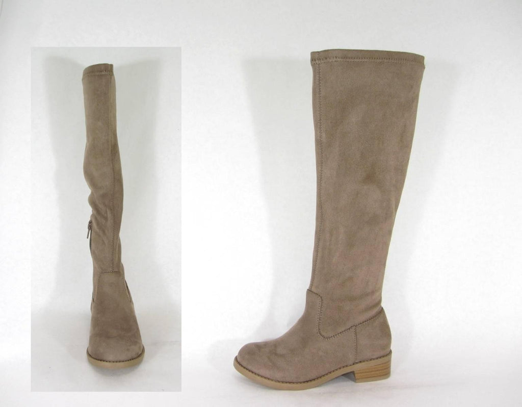 Kid's Taupe Tall Boots - shoptheexchange