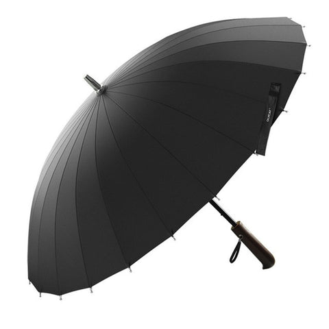New Design OLYCAT Brand Rain Umbrella Men Women Quality 24K GlassFiber Umbrella Strong Windproof  Wooden Handle Women Paraguas