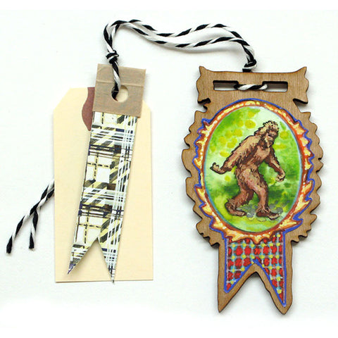 Creatures - Bigfoot Gift Tag, Ornament