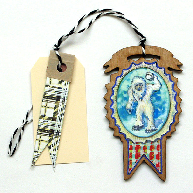 Creatures - Yetii Gift Tag, Ornament