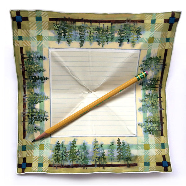 Handkerchief Letter - Trees