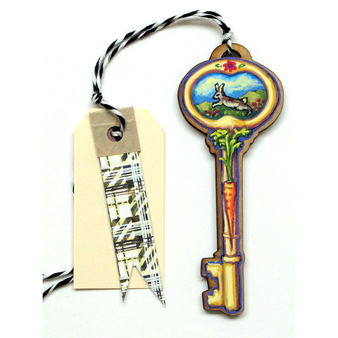 Keys - Easter Bunny Gift Tag, Ornament