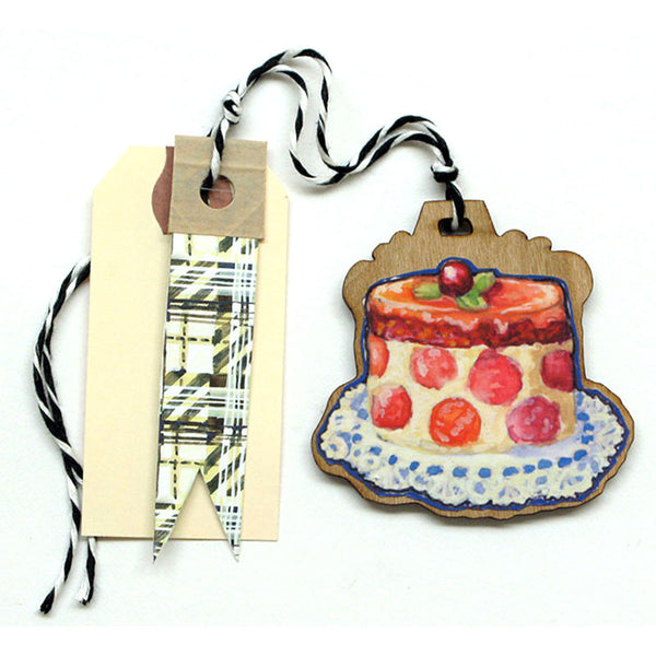 Pastry - Petit Four Gift Tag, Ornament