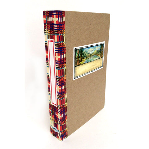 Book Box - purple plaid