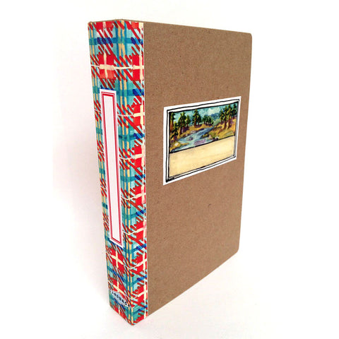 Book Box - red plaid