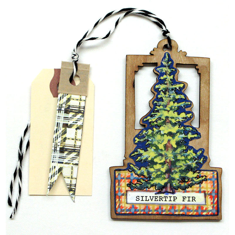 Trees - Silvertip Fir Gift Tag, Ornament