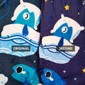 Sleepy Fish Hooded Blanket (SECONDS)