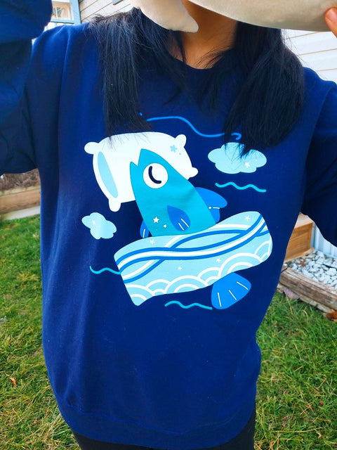 Sleeping with the Fishes... Crewneck