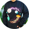 Jelly Bloom Embroidered Crewneck