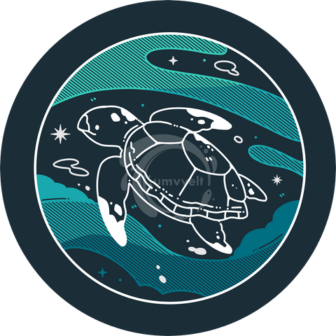 "Sea Turtles Inc. Donation Decal (4""Diffraction Decal)"