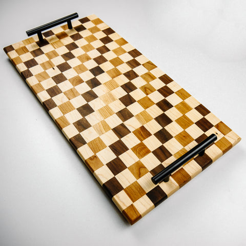 Checkerboard Charcuterie Serving Tray