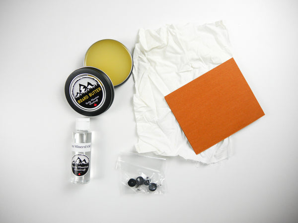 Cutting/Charcuterie Board Refinishing Kit