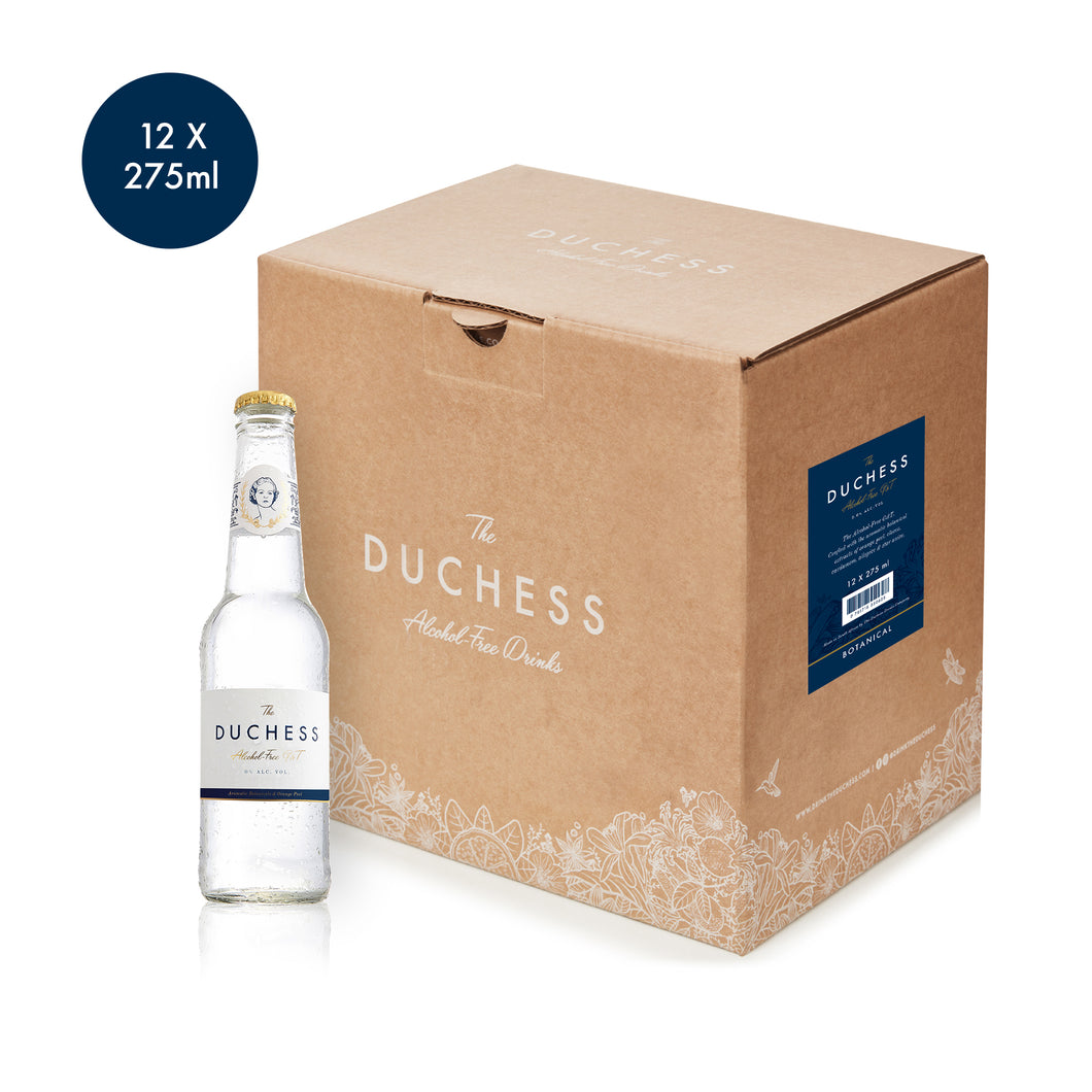The Duchess Alcoholvrije Gin & Tonic Botanical 12-pack (12 * 275ml)