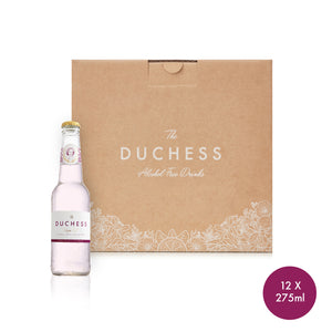 The Duchess Alcoholvrije Gin & Tonic Floral 12-pack (12 * 275ml).