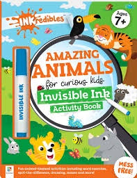 Inkredibles: Amazing Animals Invisible Ink Activity Book
